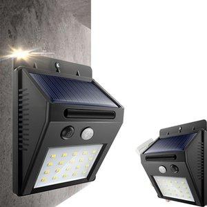 20 LED Solar Power Spot Light Motion Sensor Outdoor Garden Wall Light Security Lamp Gutter GH249
