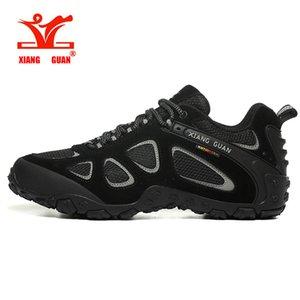 XIANG GUAN New Arrival Classics style Hommes Chaussures de randonnée lacées Hommes Sport Chaussures de plein air Jogging Trekking Sneakers rapide Livraison gratuite