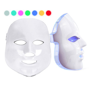 새로운 한국어 Photodynamic LED 페이셜 마스크 가정 사용 아름다움 악기 안티 여드름 피부 젊 어 짐 LED Photodynamic 뷰티 페이스 마스크