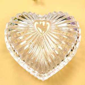 12PCS Acrylic Heart Container Candy Boxes Wedding Favors Party Reception Table Decors Birthday Event Gift Holder Anniversary Supplies