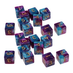 20 x 6-sided Game Dice 16mm Dice for Board Games  Teaching Math