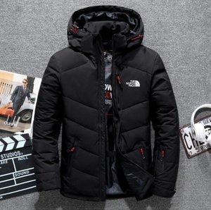 Новый север зима мужчины пуховики парка держать теплое пальто Softshell шляпы толстые открытый верхняя одежда лицо дизайнерская одежда Мужская куртка бомбардировщик