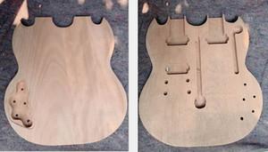 1275 모델 용 더블 넥 일렉트릭 기타 바디