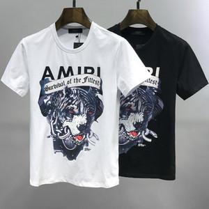 Il nuovo arrivo del progettista delle magliette estive Mens donne Tees Nero Bianco casuali delle donne degli uomini Slim Fashionl magliette del progettista di marca di buona qualità