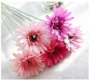 İpek Transvaal Papatya 23Colors Barberton Papatya Yapay Çiçek Sun Flower İçin Düğün Ev Partisi Dekorasyon GF10004