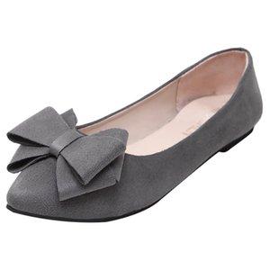 SAGACE Flats İçin Kadınlar Günlük Stil Rahat Kayma-On Kadın Ayakkabı Moda Flock Kadın Ayakkabı Kadınlar Düz Günlük Ayakkabılar 942625