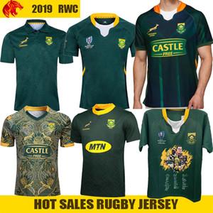 Afrique du Sud 100 ans de rugby Jersey Parole Coupe Signature Champion Edition conjointe version de rugby de l'équipe nationale de maillot Hommes Chemises-5XL