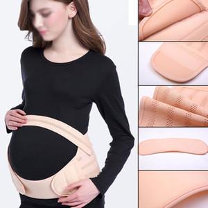 Maternité Ceinture Respirant Grossesse Sacs à dos de soutien Bandeaux de soutien des soins prénatals pour les femmes enceintes postpartum Corset ventre bandes C2