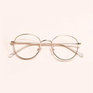 Al por mayor-MINCL / 2018 marco de los vidrios ópticos Moda impresión mujeres de la lente gafas de sol NX