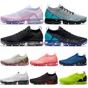 Nike Air Vapormax 2.0 Sapatos runnning ao ar livre CNY Olímpico HOT PUNCH Ginásio Azul Luz Creme MOC Oreo Dos Homens Das Mulheres Formadores Sneakers Atlético 36-45 Drops Atacado