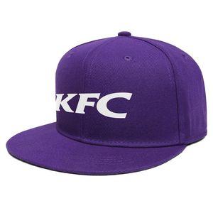 KFC كنتاكي فرايد تشيكن للجنسين شقة بريم قبعة بيسبول كول الهيب هوب القبعات سائق الشاحنة