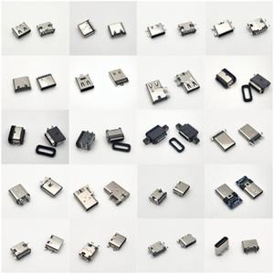 Connectors & Terminals Connectors Usb-c Type C usb 3.1 Male female socket CB connector 6 9P 14P 16P Offset Flag SMT