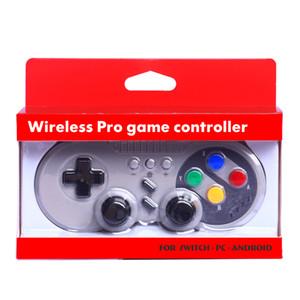 Controlador inalámbrico Bluetooth Gamepad Joystick para Nintendo Switch Pro PC con Windows Mac OS Android Rumble Vibration Controls