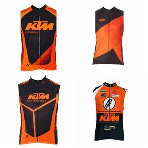 KTM team custom made Estate migliore qualità confortevole e traspirante uomo sportivo maglia senza maniche in jersey ciclismo maglia S7220