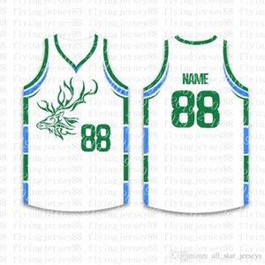Top personalizado Basketball Jerseys Mens bordado Logos Jersey frete grátis por atacado baratos Qualquer nome de qualquer número Tamanho S-XXLwr