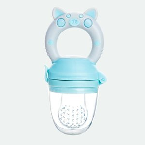 Schwein Griff Pacifier Feeder für Baby-Food Grade Silikon PP Trainings Nippel Milch Fresh Fruit Knabber Zitze Pacifier Flaschen