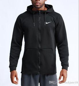 2020 caliente ropa deportiva de entrenamiento al aire libre ocasional de la chaqueta corrientes de los hombres de baloncesto de manga larga chaqueta con capucha de la aptitud de secado rápido de los hombres de la ropa