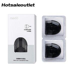 Medo Pod Cartridge 2 мл для Medo Vaping Device Kit 100% оригинал 2шт / упак. Электронная сигарета бесплатно