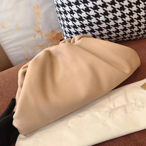 Bolsas Cluthes tarde del bolso Monedero-diseñador al por mayor precio de fábrica de suministro de alta calidad de Italia suave piel de vacuno de TI bolsa de fiesta de la nube