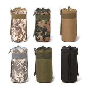1 piece High Quality Outdoor Kettle Bag Tactical Military System Water Bottle Bag Kettle Pouch Holder Bag