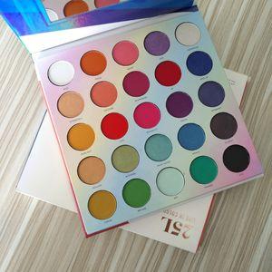 2019 Nuova palette per il trucco 25L Palette di ombretti Live In Color 25 colori Ombretto Rendi la tavolozza colorata Ombretto lucido Shimmer DHL gratuito