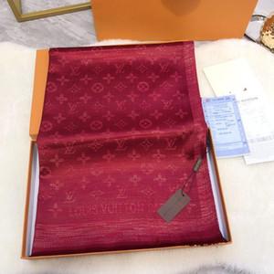 Clásico hilo dorado y plateado brillante bufandas de seda bufanda Moda bufanda de las mujeres suave brillante bufanda chal hombres mujeres bufanda de seda clásica 1 pcs