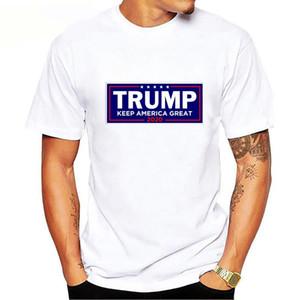 Erkek Donald Trump T Gömlek S-3XL Erkek O-Boyun Kısa Gömlek Pro Trump 2020 Tişört Trump hediyeler cny1648