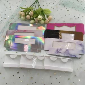 Cils boîte de boîte vide avec plateau nouveau style package populaire meilleurs coups de fouet de vente en gros boîte de personnalisation