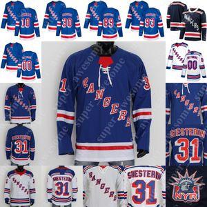 CUSTOM Rangers de New York Jersey Dawson Leedahl Danny O'Regan Adam Day Sean Fox Yegor Rykov Igor Shesterkin