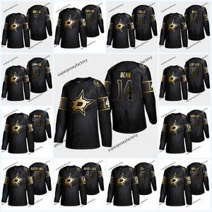 14 Jamie Benn 2019 Golden Edition 4 Etoiles Jersey Miro Heiskanen 91 Seguin 36 Mats Zuccarello 21 Ben Lovejoy 30 Ben Bishop Hockey jers