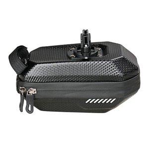 Wasserdichte Mountain Bike Bag EVA Hartschalen-Fahrrad-Endstück-Pack-Carbon-Muster-Hochkapazitäts-Satteltaschen Reitausrüstung Panniers Taschen