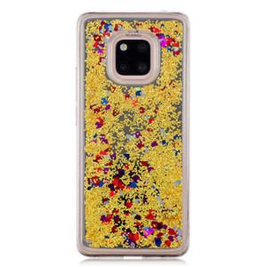 Para huawei mate 20 pro case capa quicksand flash glitter em pó espelho casos de telefone móvel duro