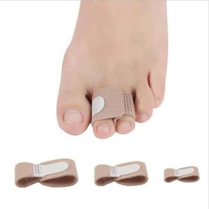 Füße Finger Korrektor Einlegesohlen Stoff-Gel-Silikon-Schlauch Bunion Zehen Finger Separator Divider Schutz Corns Schwielen