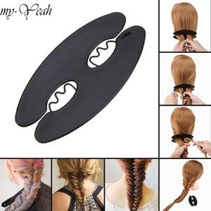 Trecciatrici Styling Magic Hair Weave Braider creatore del panino di torsione del rullo lo styling dei capelli Strumenti Casa uso fai da te Bellezza Trecciatrici Strumenti Accessori