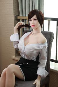 Alta qualità Giovani Dolls donna del sesso per gli uomini Masturbatore realistico amore del silicone bambola metallo scheletro Seno grande Pussy della vagina adulti giocattoli sexy