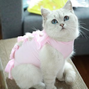 Pet Sweet Clothing Halloween Costume Cat Animal Clothes Hoodie Jacket Cat Spring Autumn Solid Color Costumes