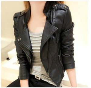 Весна и осень 2015 нового Pu тепловоз кожа одежда женского короткий корейская версия пригонка большого короткое пальто небольших кожаный жакет тренд