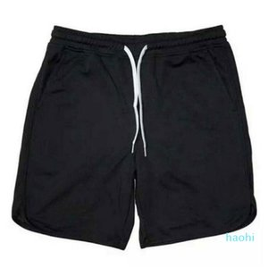fashion-Solid color fitness shorts men's sports pants mesh quick-drying breathable basketball five pants summer running training
