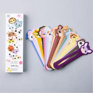 30pcs lot Animal Farm Paper Bookmark for Book Holder Multifunction Bookmark Stationery Children School Supplies Cute Kawaii Gift