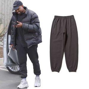 Jogger Pants Men Street Hip Hop Jogginghose Männer Grau Khaki Blau Spiel loser beiläufiger Terry Pants Women Mens