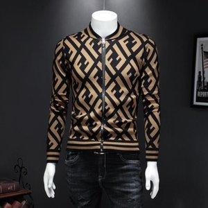 Internationale haut de gamme nouvel alphabet de mode pull haute qualité sweat stand femmes des hommes manteau cardigan col M - 4XL