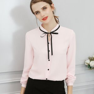 Blouse Women Ladies Designer Tops Autumn Spring New Tops Office Ladies Blouse Fashion Long Sleeve Slim White Shirt Cute Bodycon Blouses