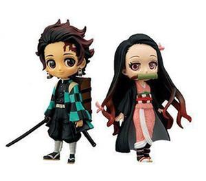 2 Stile Qposket Demon Slayer Kimetsu senza Yaiba Kamado Tanjirou Nezuko PVC figura modello collezione di bambole Giocattoli B1