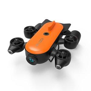 Geneinno Titan Underwater Inteligence Drone Robot Undersea Detection Rescue 160° Wide-angle FOV 360° Movement 4K Camera T1 RC