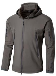 드롭 배송 육군 위장 남성 자켓 코트 전술 자켓 2020 겨울 방수 쉘 카모 자켓 사냥 의류