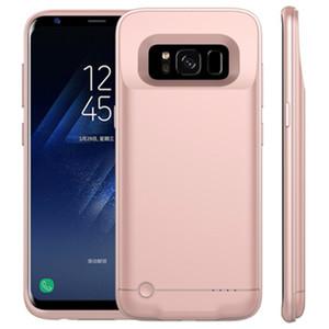 XY005 Aleación de aluminio de alta capacidad sin barbilla Clip para teléfono móvil de carga Treasure 5000mah para Samsung S8 Plus