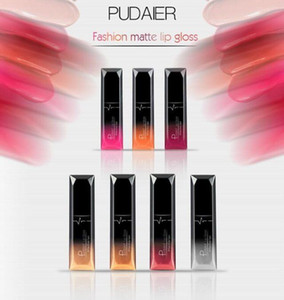 PUDAIER Waterproof Velvet Liquid Lipstick Sexy Red Lip Tint 21 Colors Make up Long Lasting maquiagem Matte Nude Glossy gloss