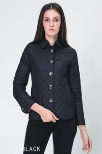 Para mujer 2019 Ropa de diseño de lujo capa ocasional de diseñador para mujer Pure Fashion capa del algodón del color de manga larga solapa de invierno corto