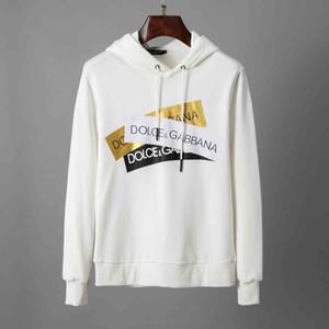 Para hombre fuera de la manga Diseño con capucha blanca Sudadera con capucha Hombres Mujeres suéter largo Pullover Marca sudaderas Streetwear Moda Sweatershirt
