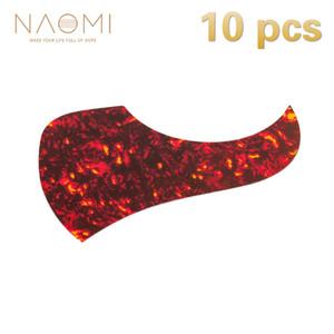 NAOMI Guitar Pickguard 10 Unids Pickguard Autoadhesivo Pick Guard Sticker Para Guitarra Acústica Partes de Guitarra Roja Accesorios